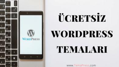 ücretsiz wordpress temalari