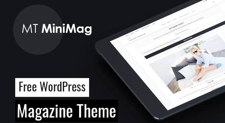 mt minimag magazin teması