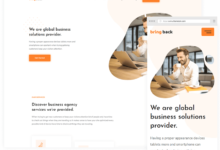 Bring back ücretsiz kurumsal wordpress teması