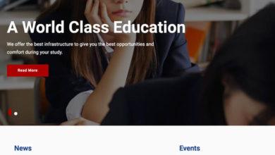 Education soul ücretsiz wordpress okul teması