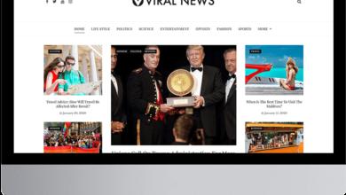 Viral news ücretsiz haber teması
